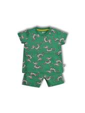 Woody Baby Unisex pyjama, zebra all-over-print