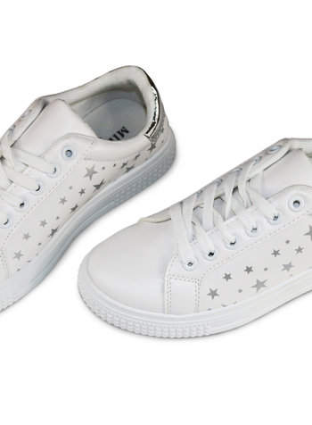 Miracles Sneakers silver stars