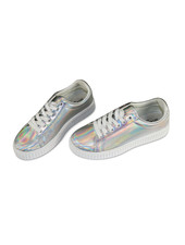 Miracles Sneakers rainbow zilver
