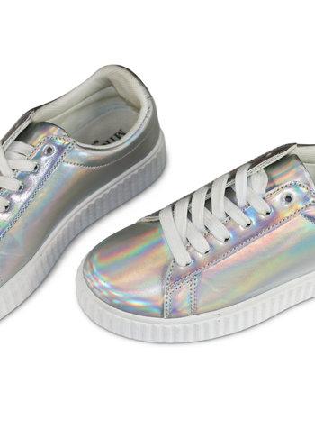 Miracles Sneakers rainbow zilver