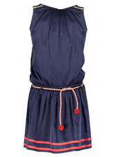 NoNo Manouk satin sleeveless dress