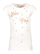 NoNo Kissy tshirt capsleeve with Free Bees print