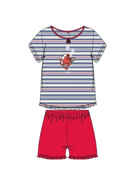 Woody Meisjes pyjama, S stripe koi gestreept