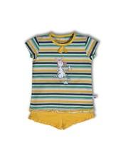 Woody Meisjes pyjama, S stripe zebra gestreept