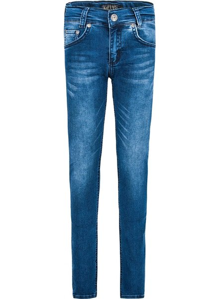 blue effect Jeans ultra stretch, tube-leg NOS Wide