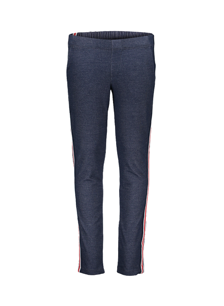 Geisha Legging denim rode streep