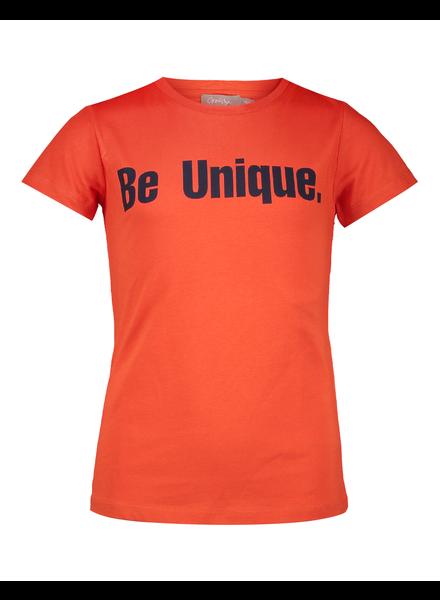 Geisha Be unique coral tshirt
