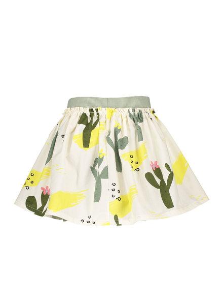 NoNo Nana reversible short skirt Lemon AOP + cactus AOP