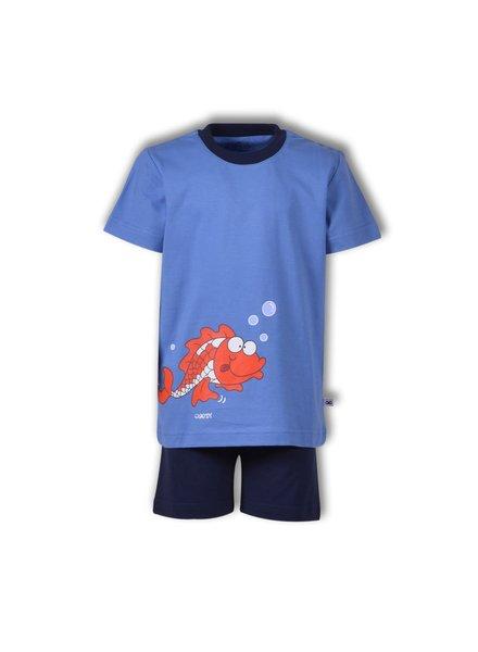 Woody Jongens pyjama blauw koivis
