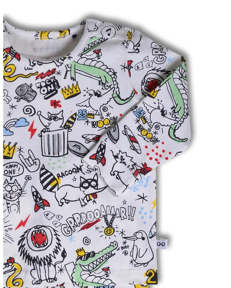 Woody Woody 25 jaar ltd edition unisex pyjama