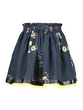 NoNo Noelle reversible skirt with satin AOP+seersucker