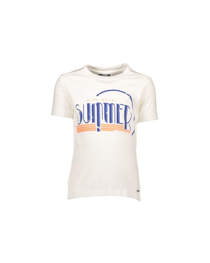 LCEE T-shirt club royal summer