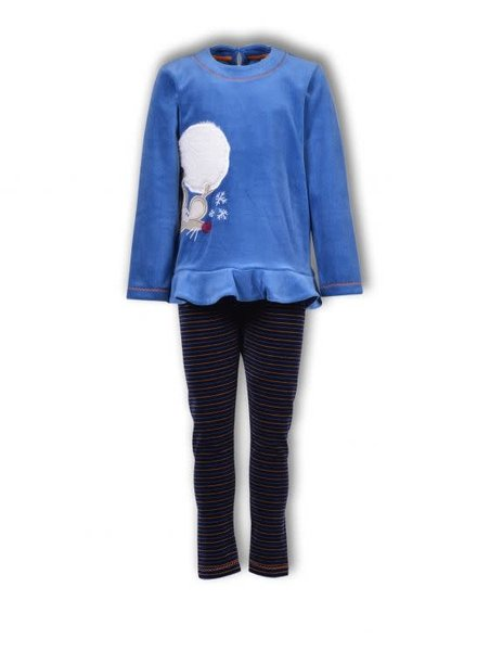 Woody Girls-Women pyjamas, blue