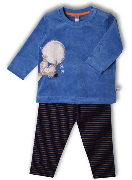 Woody Boys-Men pyjamas, blue