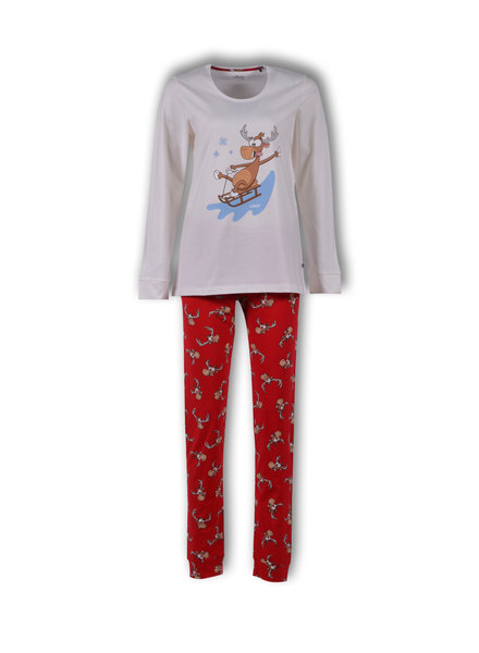 Woody Girls-women pyjamas off-white