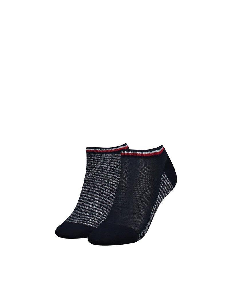 Tommy Hilfiger Th women resort sneaker 2p midnight blue 35/38