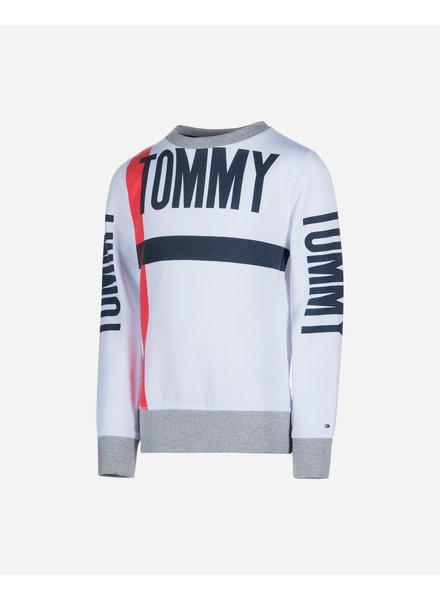 Tommy Hilfiger Bold text crew neck