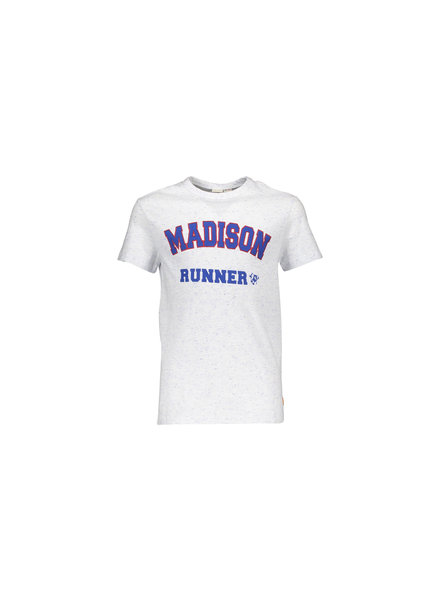 Street called Madison Charlie blue spikkel jersey ss t-shirt MAD RUN