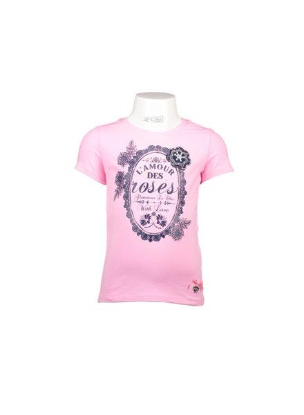 Girls tshirt ss, print