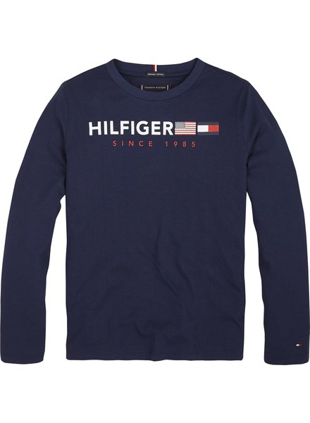 Tommy Hilfiger Flags graphic tee l/s