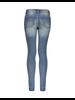 Geisha Jeans zipper pocket & piping