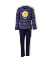 Woody Meisjes-dames pyjama, S stripe dodo gestreept