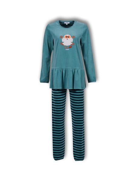 Woody Meisjes-Dames pyjama, meadowbrook nachtdier