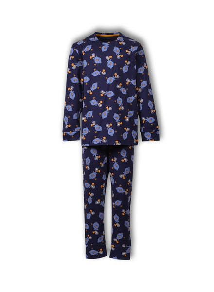 Woody Jongens-Heren pyjama, S+Z aop dodo all-over print