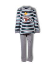 Woody Jongens-Heren pyjama, S stripe tarsier gestreept