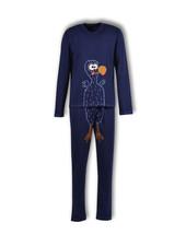 Woody Unisex pyjama, peacoat dodo