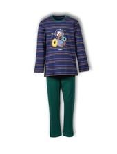 Woody Jongens-Heren pyjama, S stripe dodo gestreept