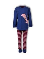 Woody Meisjes-Dames pyjama, blue depths alpaca