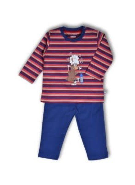 Woody Jongens pyjama, S stripe alpaca gestreept