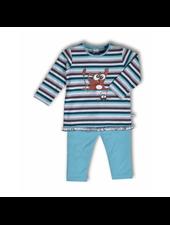 Woody Meisjes pyjama, S stripe tarsier gestreept