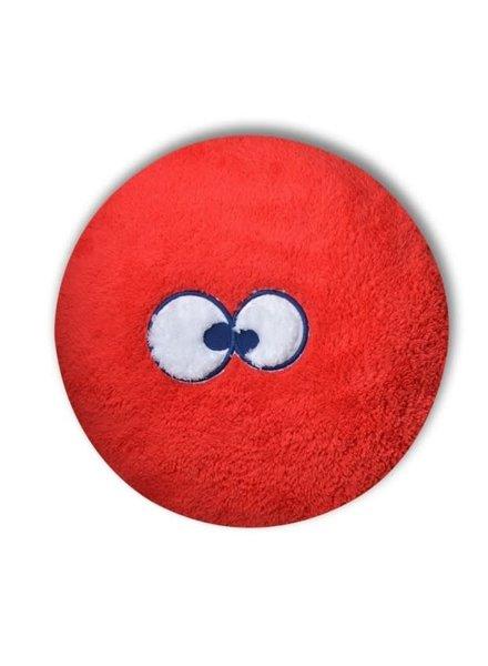 Woody Rond kussensloop tomata