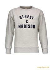 Street called Madison Charlie sweater - CHARLIE (grijs)