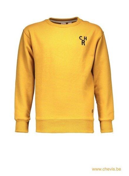 Street called Madison Charlie sweater - CHARLIE (geel)