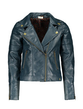 Street called Madison Luna imi leather jacket BIKER