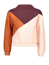 Street called Madison Luna colourblock sweater COLOR UP