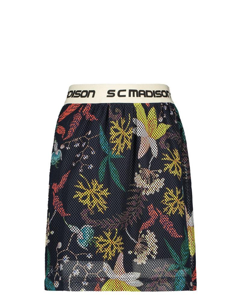 Street called Madison Luna flower mesh skirt FLOWER LOVE