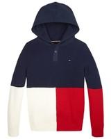 Tommy Hilfiger Colourblock navy hoodie