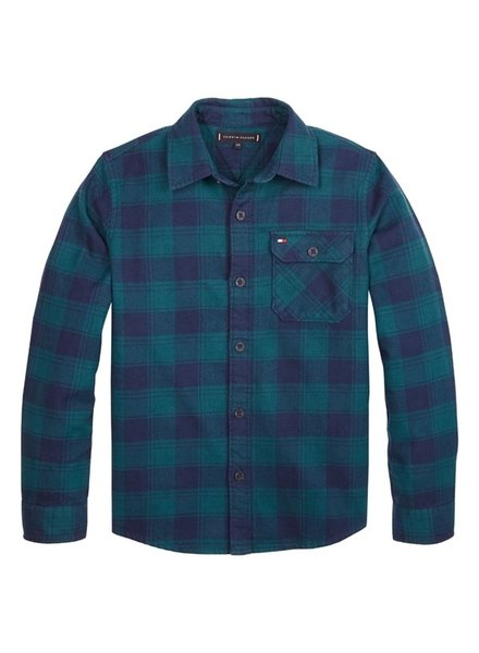 Tommy Hilfiger TJ DG Flannel check shirt