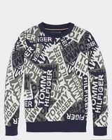 Tommy Hilfiger Intarsia camo sweater