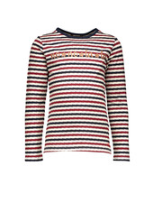 NoNo Kus fancy striped ls t-shirt