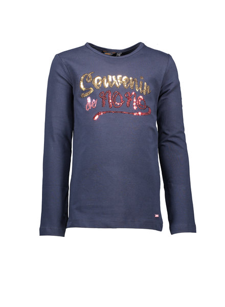 NoNo KusyB ls t-shirt with sequins artwork