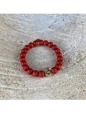 Miracles Bracelet zia red w/ heart
