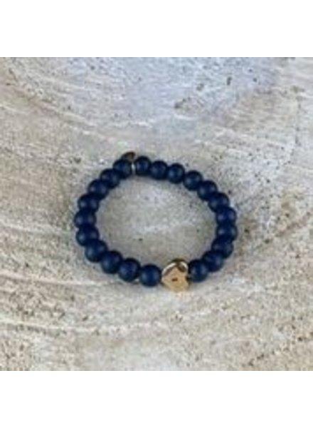 Miracles Bracelet zia blue w/ heart
