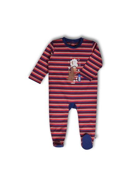 Woody Baby pyjama alpaca met voetjes
