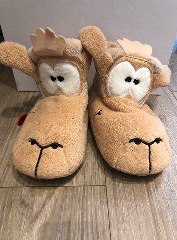 Woody Pantoffels, thema alpaca