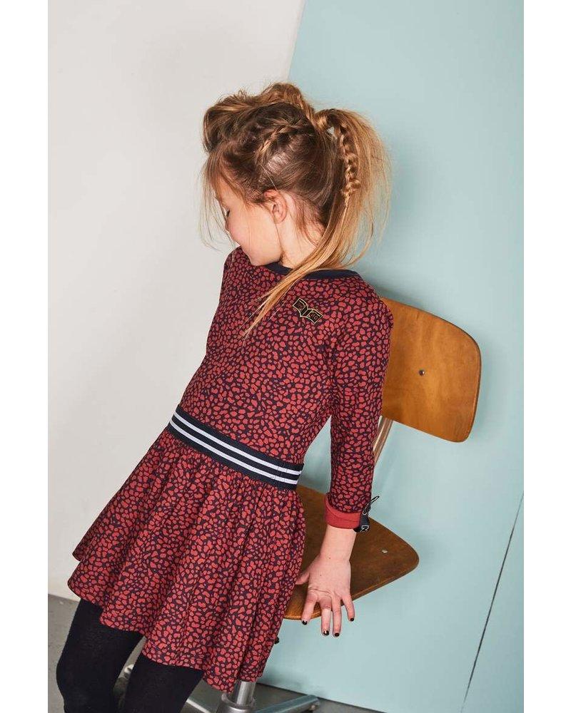 NoNo MenaB ls animal dress pleated skirt